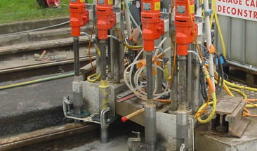 <strong>Group drilling on railway</strong>